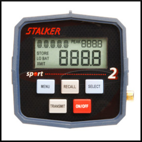 Stalker Radar Sport 2 display